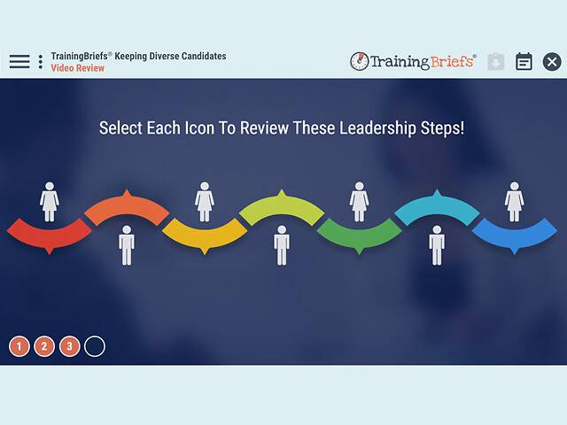 TrainingBriefs® Keeping Diverse Candidates