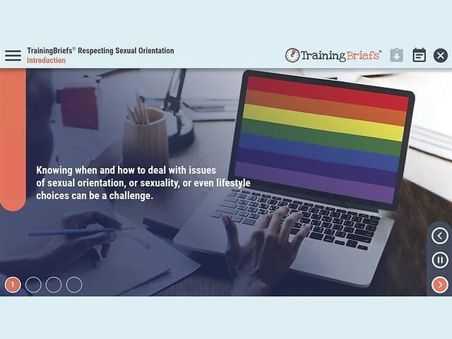 TrainingBriefs® Respecting Sexual Orientation