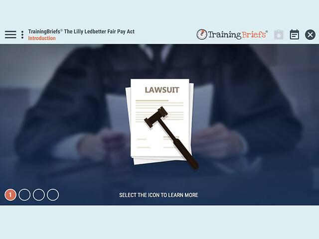 TrainingBriefs® The Lilly Ledbetter Fair Pay Act
