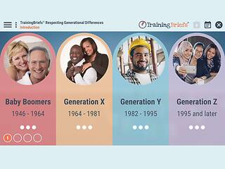 TrainingBriefs® Respecting Generational Differences