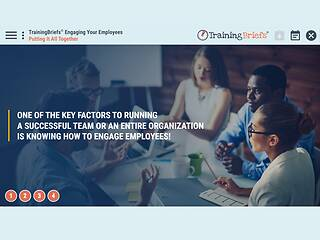 TrainingBriefs® Engaging Your Employees