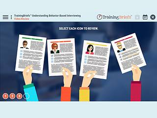 TrainingBriefs® Understanding Behavior-Based <u>Interviewing</u>