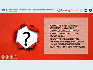 TrainingBriefs® The Negative Impact of Unconscious Bias (Managers)