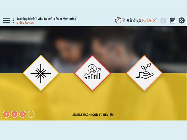 TrainingBriefs® Who Benefits from Mentoring?