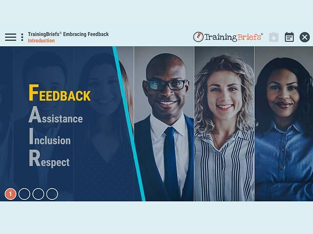TrainingBriefs® Embracing Feedback