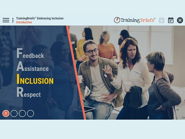 TrainingBriefs™ Embracing Inclusion
