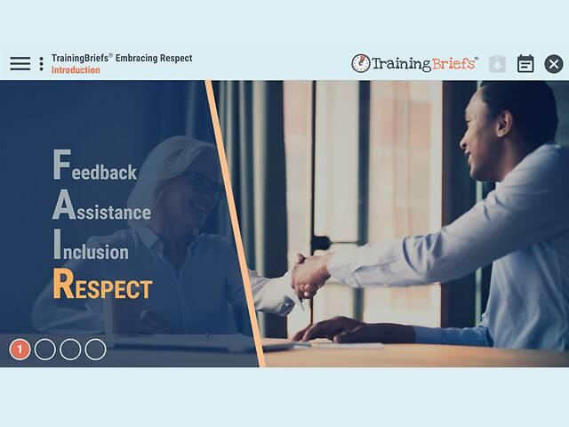 TrainingBriefs® Embracing Respect