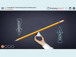 TrainingBriefs® Understanding Decision-Making Styles