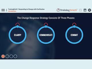 TrainingBriefs® Responding to <u>Change</u> with Clarification
