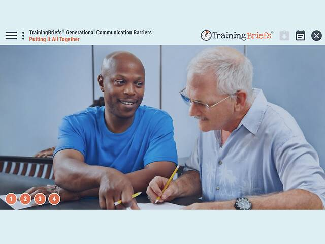 TrainingBriefs® Generational Communication Barriers