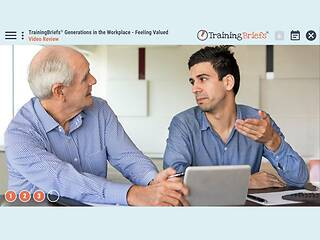 TrainingBriefs™ Generations in the Workplace - Feeling Valued