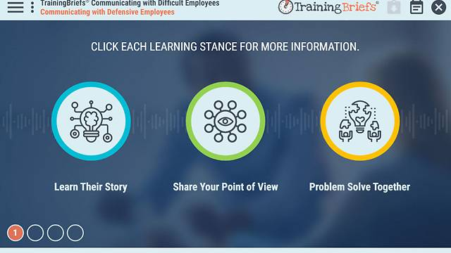 TrainingBriefs® Communicating with Difficult Employees