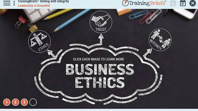 TrainingBriefs® Selling with Integrity