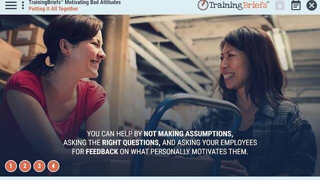 TrainingBriefs® Motivating Bad Attitudes