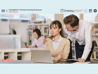TrainingBriefs® Actively Preventing <u>Harassment</u>