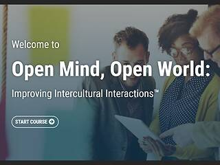 Open Mind, Open World: Improving Intercultural Interactions™ - Video + Post Test