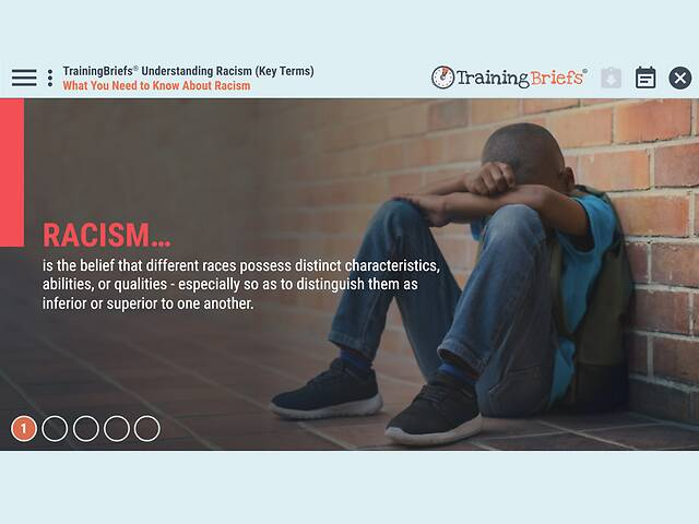 TrainingBriefs® Understanding Racism (Key Terms)