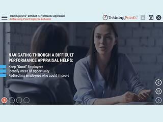 TrainingBriefs® Difficult Performance Appraisals