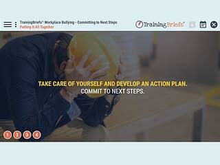 TrainingBriefs® Workplace Bullying – Committing to Next Steps