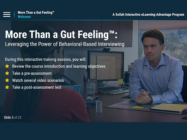 More Than a Gut Feeling™: Leveraging the Power of Behavior-Based Interviewing (Memorial Healthcare)