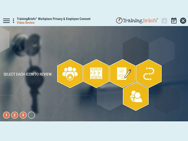 TrainingBriefs® Workplace Privacy & Employee Consent