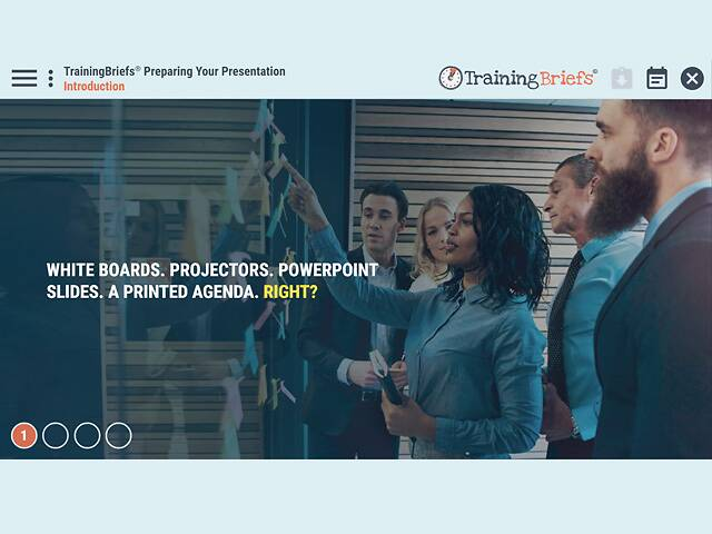 TrainingBriefs® Preparing Your Presentation