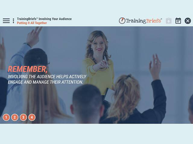 TrainingBriefs® Involving Your Audience
