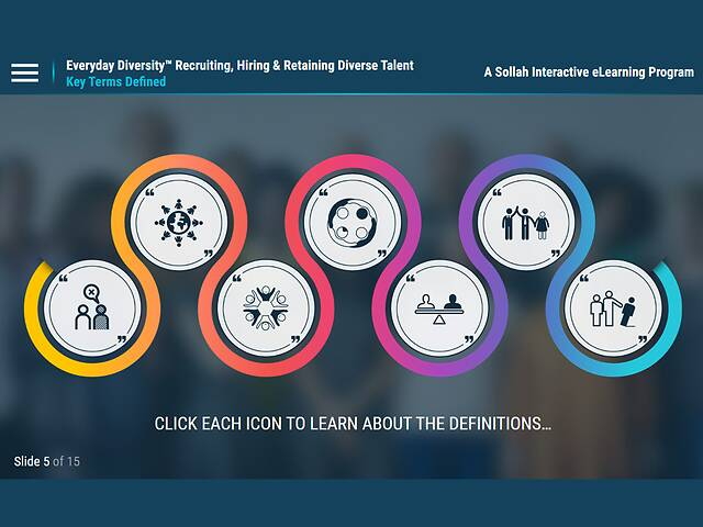 Everyday Diversity™ Recruiting, Hiring & Retaining Diverse Talent (eLearning)