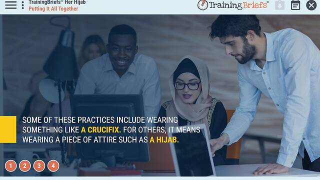 TrainingBriefs® Her Hijab