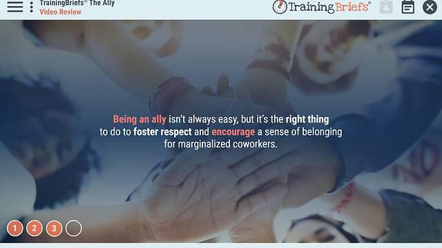 TrainingBriefs® The Ally