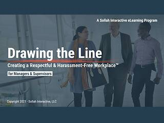 Drawing the Line: Creating a Respectful & Harassment-Free Workplace™ (2-Hour Mgr/Sup Version)