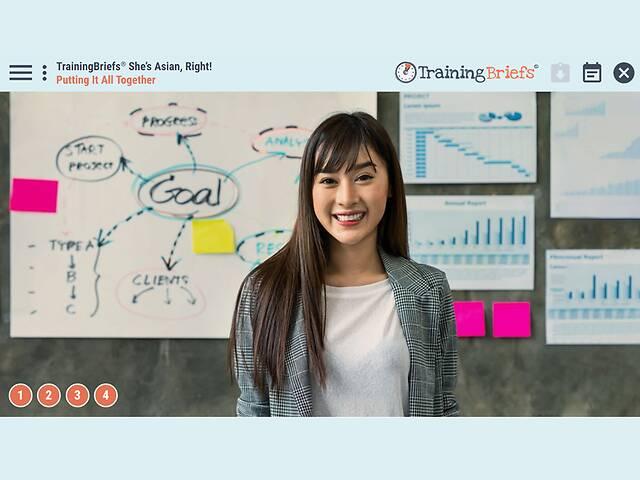 TrainingBriefs® She's Asian, Right!