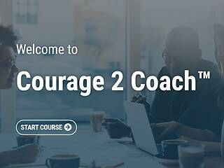 The Courage to Coach™: A Common Sense Approach to Confronting Tough Employee Performance Situations - Video + Post Test