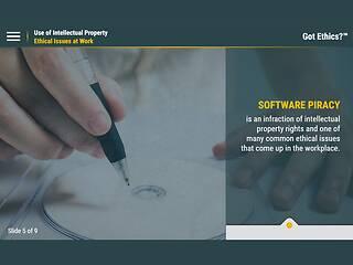 Got <u>Ethics</u>?® Use of Intellectual Property