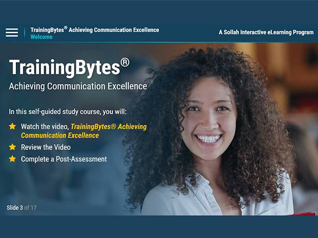 TrainingBytes® Achieving Communication Excellence