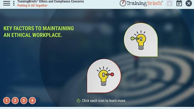 TrainingBriefs® <u>Ethics</u> and Compliance Concerns