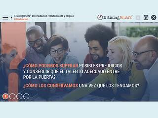 TrainingBriefs® Diversity in Recruiting & Hiring (Spanish)