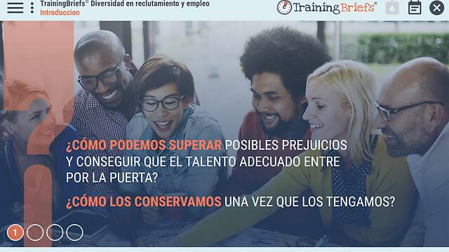 TrainingBriefs® <u>Diversity</u> in Recruiting & Hiring (Spanish)