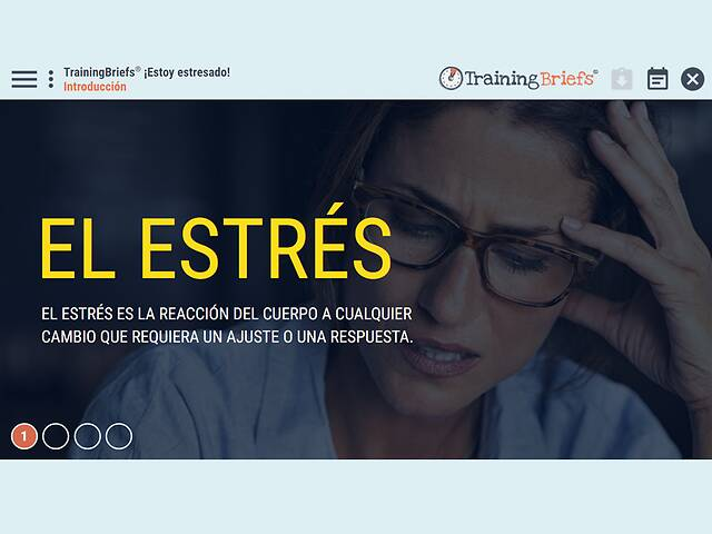 TrainingBriefs® I'm Stressed! (Spanish)