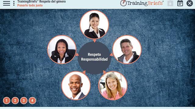 TrainingBriefs® Gender Respect (Spanish)