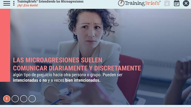 TrainingBriefs® Understanding Microaggressions (Spanish)