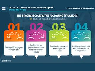 Let's T.A.L.K.: Handling the Difficult Performance Appraisal