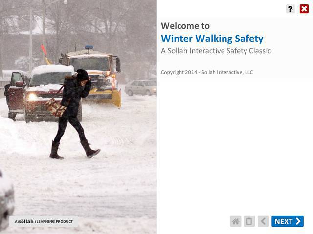 Winter Walking Safety™