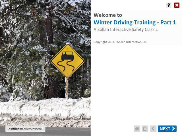 Winter Driving Training™ Part 1