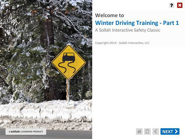 Winter Driving Training™ Part 1