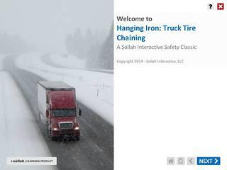 Hanging Iron - Truck Tire Chaining™