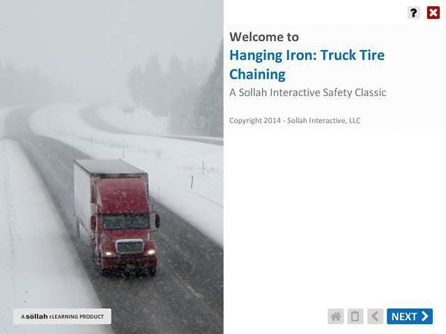 Hanging Iron - Truck Tire Chaining™