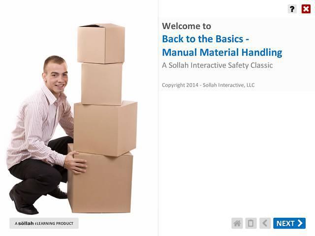 Back to Basics: Manual Material Handling™