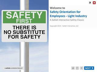 Safety Orientation for Employees - Light Industry™