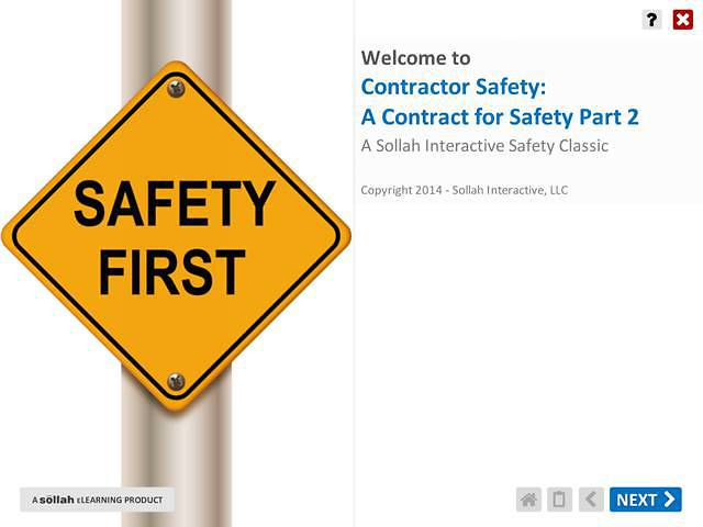 Contractor Safety - A Contract for Safety™ Part 2